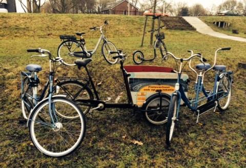 Groepsverhuur van fietsen