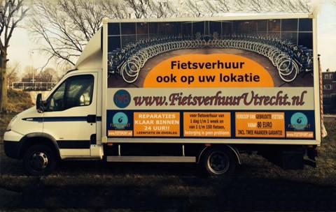 Fietsverhuur in Utrecht